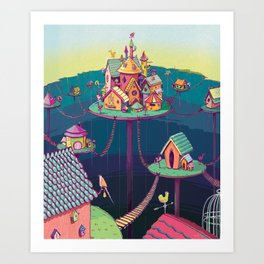 Cinderella's Castle Art Print