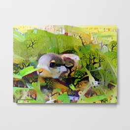 Meadow Babe Metal Print