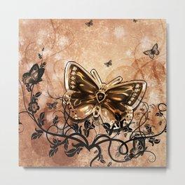 Beautiful butterflies Metal Print
