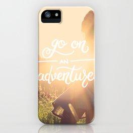 Go on an adventure iPhone Case