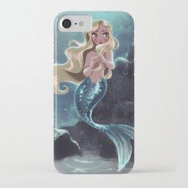 Blonde Mermaid iPhone Case