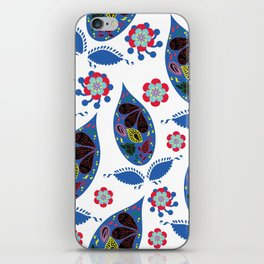 Paisley pattern #4W iPhone Skin