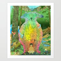 kozyndan Art Prints featuring Prime Creator by kozyndan