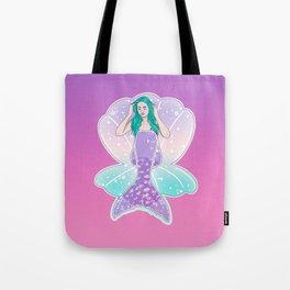 Mermaid Gradient Tote Bag