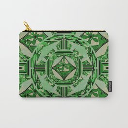 flower in window 2 green Carry-All Pouch