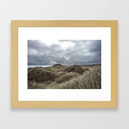 Coastal Storm Framed Art Print