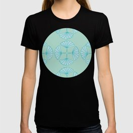 Ginkgo Foliage Pattern T-shirt