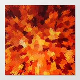 Digital Exsplosion Canvas Print