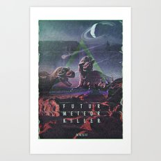 MYSTIC//DINO Art Print