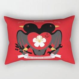 Doublebreasted Appleblossom Rectangular Pillow