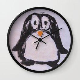Pingu-Eye-Fly Wall Clock