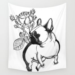 Rosie dog Wall Tapestry