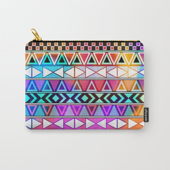 Tribal Pattern 08 Carry-All Pouch