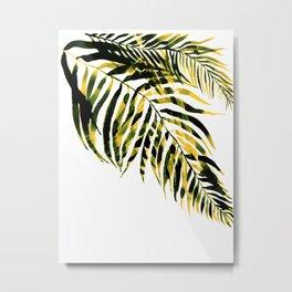 Green minimalist, greenery decor Metal Print