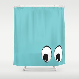 Eyes on You! Shower Curtain