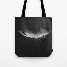 Feather floating Tote Bag