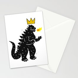 Jean-Michel Basquiat's Crown on Japanese Monster Stationery Cards