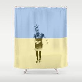 ESC Ukraine 2007 Shower Curtain