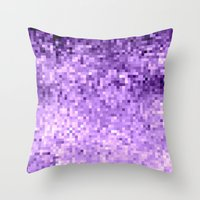 lavender Throw Pillows featuring LavendeR by SimplyChic
