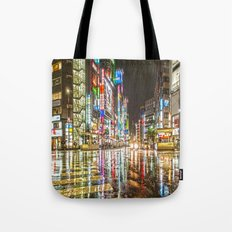 Rain In Japan Tote Bag