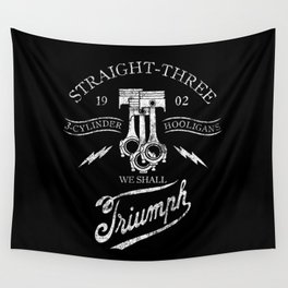 STRAIGHT 3 Wall Tapestry