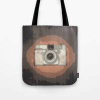 camera Tote Bags featuring Camera by Mr and Mrs Quirynen
