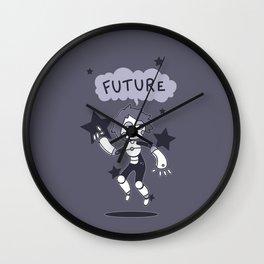 Future Girl Wall Clock