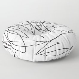 I like to scribble Floor Pillow