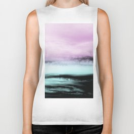 Ocean Love #2 #abstract #decor #art #society6 Biker Tank