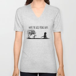 Where the wild things were. Unisex V-Neck