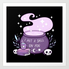 Witch Cauldron | Nikury Art Print
