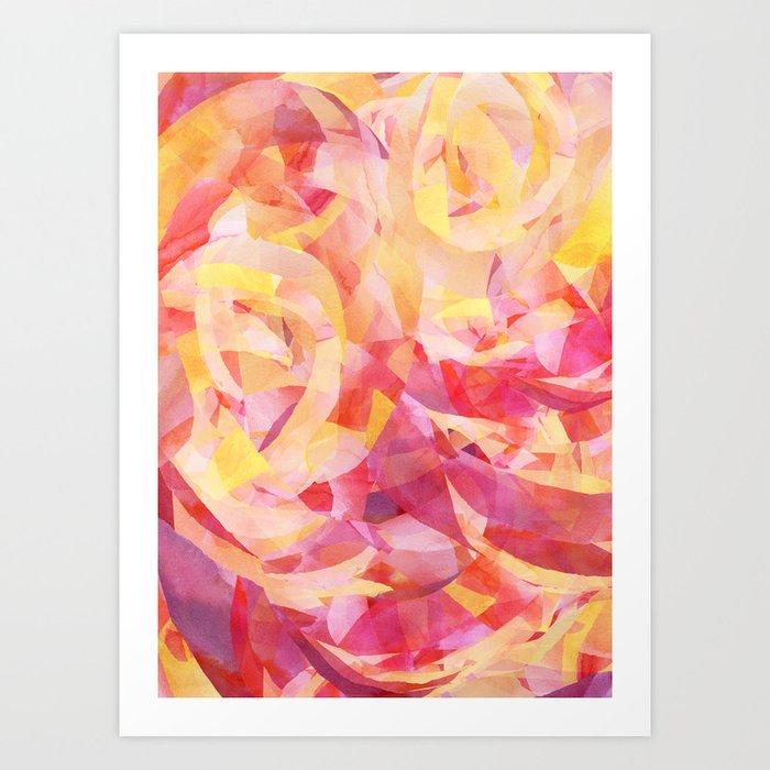 Concentric (Rise Remix) Art Print