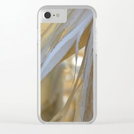 Out of Season Clear iPhone Case