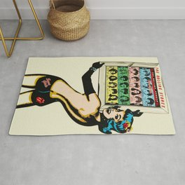 Vintage 1978 Rolling Stones - Some Girls - Concert Poster - Store Display Rug
