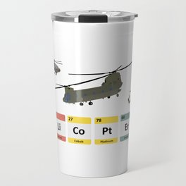Military Helicopters Chemistry Travel Mug