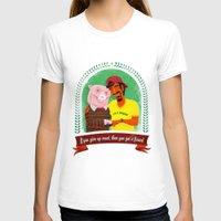 vegan T-shirts featuring Vegan by Bakal Evgeny