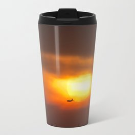 Into the Sunset. Travel Mug