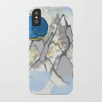 led zeppelin iPhone & iPod Cases featuring Zeppelin by elambonebright
