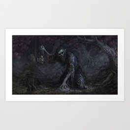 You've lost your soul Art Print