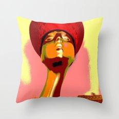 Vintage: The Zulu Hat Throw Pillow