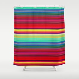 Rainbow Colors Shower Curtain