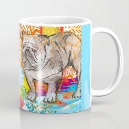 Bulldog pop art Coffee Mug