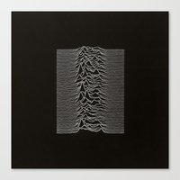 joy division Canvas Prints featuring Joy Division by TheSiro