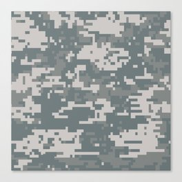 Digital Camouflage Canvas Print