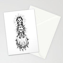 Catrina de mi corazón Stationery Cards