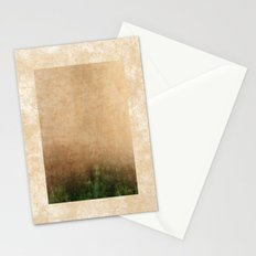 Rising green Stationery Cards