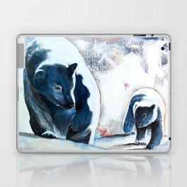 Bears - Don't be afraid, I'll show you the way... by LiliFlore Laptop & iPad Skin