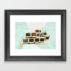 Discard Land Framed Art Print