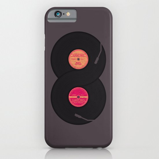 infinity vinyl records iPhone & iPod Case