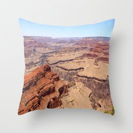 Awesome Grand Canyon View Throw Pillow